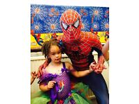 Children's party Entertainers Berkshire. Superhero / Princess Kid's parties and mascot hire