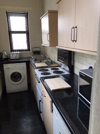 One bedroom fully furnished ground floor flat, Quiet location and near most amenities.