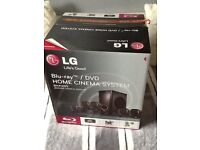 Lg blue-ray/DVDs home cinema system brand new
