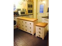 Brand New Kent Chest of Drawers & Matching Bedside Cabinet
