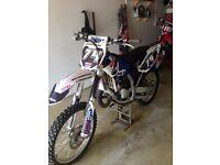 Yamaha 125 mint wee bike always got what it needed