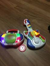 Toys: CD player with 1 CD & Guitar & Piano (Batteries included) Lyneham North Canberra Preview