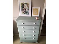 Pine drawers annie sloan duck egg furniture