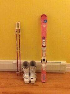 ski set for child
