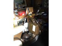 Vespa piggio 200cc registered 125