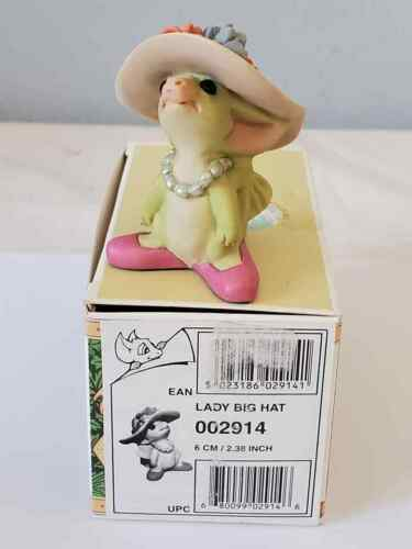 """2000 Whimsical World of Pocket Dragons  """" Lady Big Hat """" Mint In Box"""
