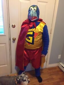 Super Gonzo (muppets) adult costume