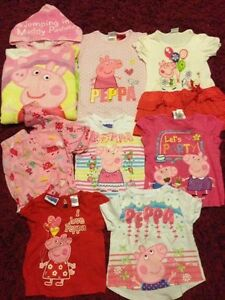Peppa clothes bundle and Peppa beach towel Tingira Heights Lake Macquarie Area Preview