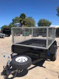 7x4 Caged Trailer with brakes 1400kg (Australian Made) Adelaide Region Preview