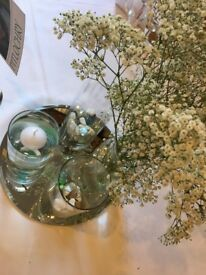 12 inch Mirror plates suitable for wedding table centrepieces