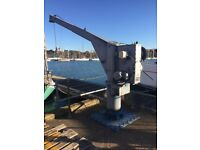 Palfinger Ned-Deck Type SCM 10-3.5R Crane (2013) - OUT REACH - MARINE