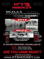 Hockey Pre season /Conditioning Camp