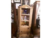 Corona Mexican pine corner unit Copley Mill Low Cost Moves 2nd Hand Furniture STALYBRIDGE SK15 3DN