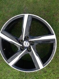Alloy wheel for Volvo v 40 type
