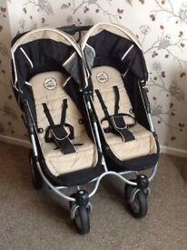 Twin double buggy