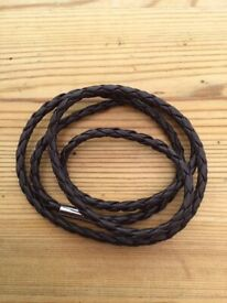 Leather unisex wraparound bracelets. £4. Can post or collect from Tqy
