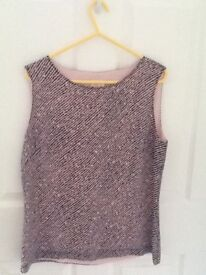 Women's clothing size 12 tops and jackets, new and used very good condition.