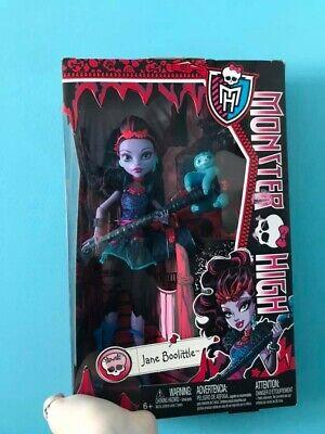 2013 monster high doll jane boolittle mattel toys new