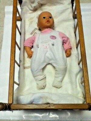 Used, Zapf Creation Doll_First Baby_Annabel_Toy_Interactive_soft stuffed body_Vintage for sale  Madison