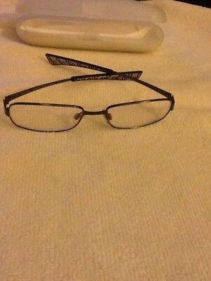 Dolce Gabana Metal Eye Glasses Frame with case made in (Dolce Gabana Eyeglasses)