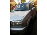 Suzuki Grand Vitara 4x4, automatic, 1.6 petrol, very low millage