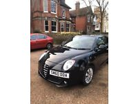 2010 Black Alfa Romeo Mito 1.6 Petrol - LOW MILEAGE - LONG MOT for sale