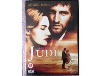 Jude DVD (Kate Winslet, Christopher Eccleston etc - Thomas Hardy)