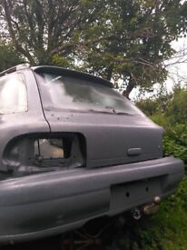 subaru classic rear bumper