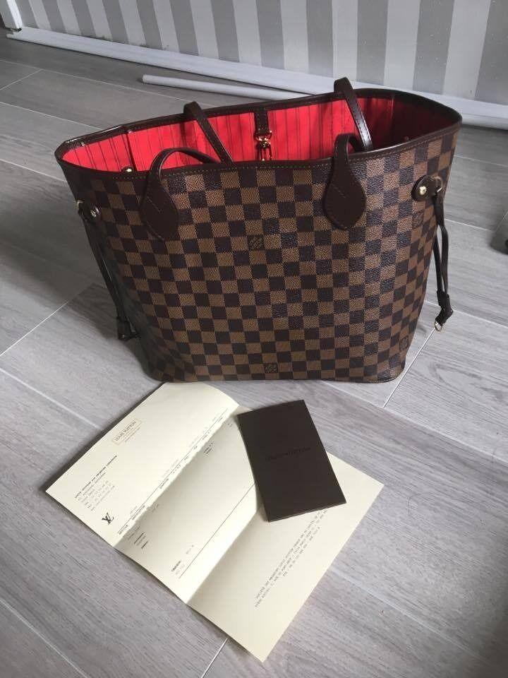 Neverfull Mm Damier Louis Vuitton