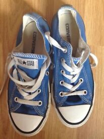 KIDS ALL STAR CONVERSE TRAINER SHOES