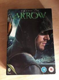 Arrow Season 1 And 2 DVD Bundle