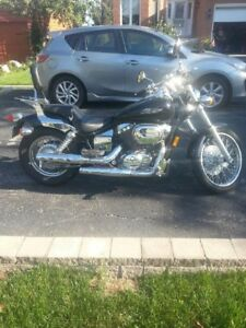 2007 Honda shadow vt 750 Low KM