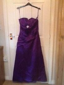 Prom dress ,full length ,size 10