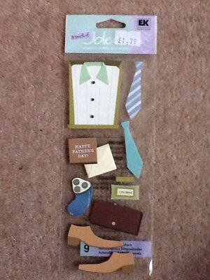 Craftroom Clearance - Jolees Boutique Embellishments - Happy Fathers Day