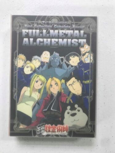 Full Metal Alchemist Best Collection - DVD Box Set - Episodes 1-51 - Region Free