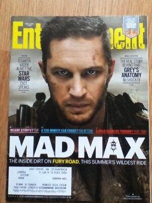 Entertainment Weekly May 1  2015  1361 Mad Max Greys Anatomy Free Shipping