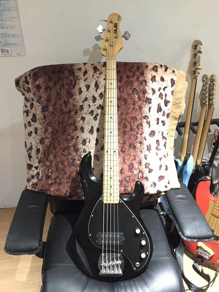 Sterling by Music Man SUB 5 bass guitar