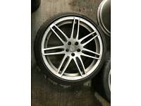 """Alloy wheels audi 20"""" inches Audi a4 s4 rs4 a5 s5 rs5 a6 s6 rs6 a7 s7 rs7 a8 s8 q5 sq5 8t0"""