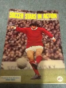 1969-70-SOCCER-STARS-STICKER-ALBUM-part-Completed-VERY-RARE