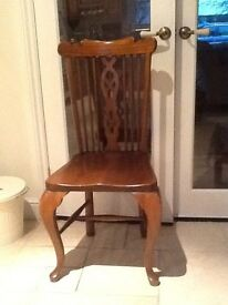 Solid elm chairs