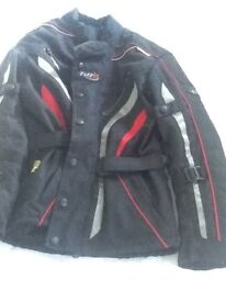 Tuzo ladies motorcycle jacket size small, never been worn