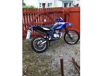 road legal 125cc motorbike / Yamaha Wr 125R Enduro