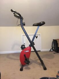 Exercise bike, Cyclette Foldable with display