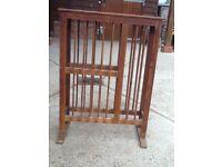 Old pine plate rack