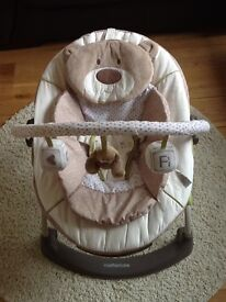 Mothercare loved so much vibrating baby chair - pristine condition