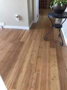 AMAZING DEAL ! $3.89 Bamboo Hardwood Engineered Floors INSTALLED