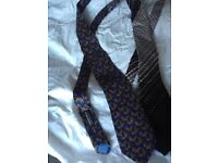 Christian Dior and asprey ties. Hardly used.