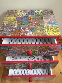 Where's Wally chest of drawers