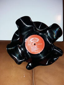 Brand New Vinyl LP Record Bowls Retro Wedding Party Items