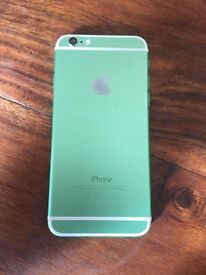 Iphone 6 on EE Green / White ( celtic supporter maybe )
